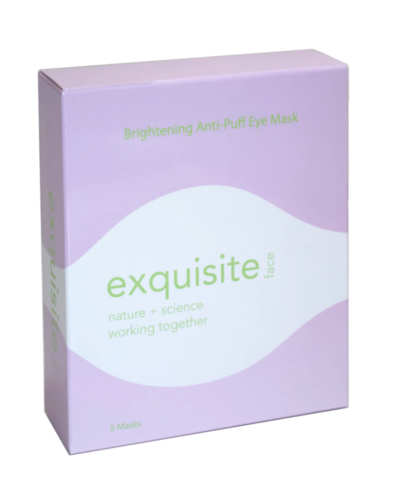 brightening anti-puff eye mask