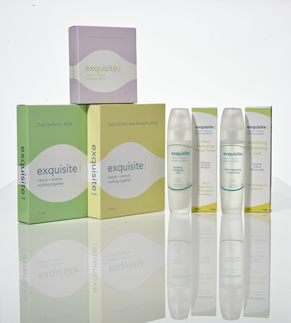 Exquisite Face and Body products